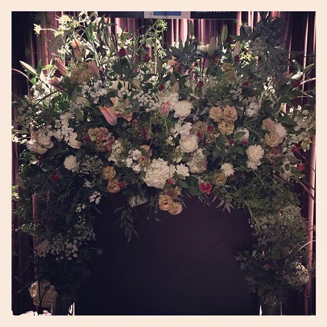 #フォトブース の装花  at 丸の内  #cottonclub にて、