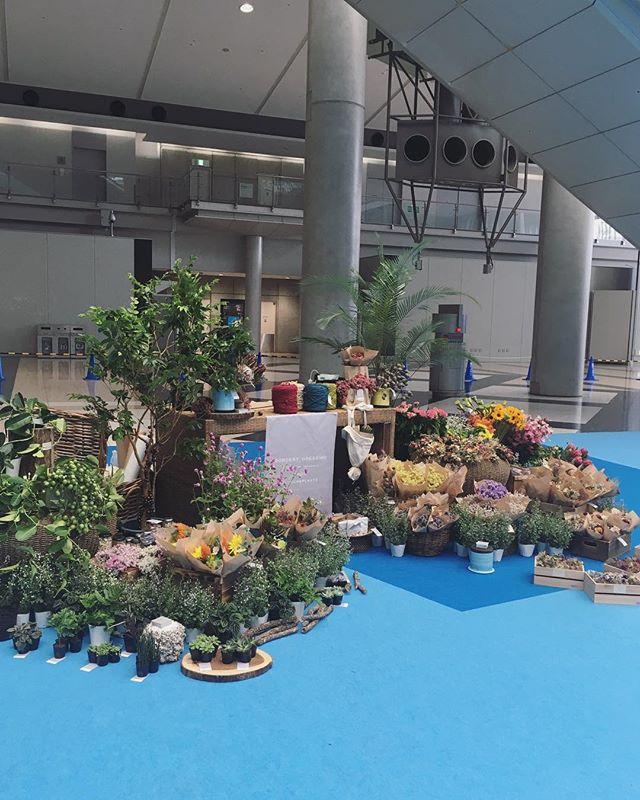 今年もHandMadeInJapanFesにて出張花屋をしております今日と明日の2日間、東京ビックサイトにて…
