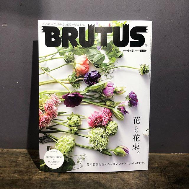 本日発売のBRUTUSにてお店をご紹介していただきました。全体的にお花や花にまつわる内容です。とても面白いです。ぜひご覧ください#sorcerydressing #ソーセリードレッシング