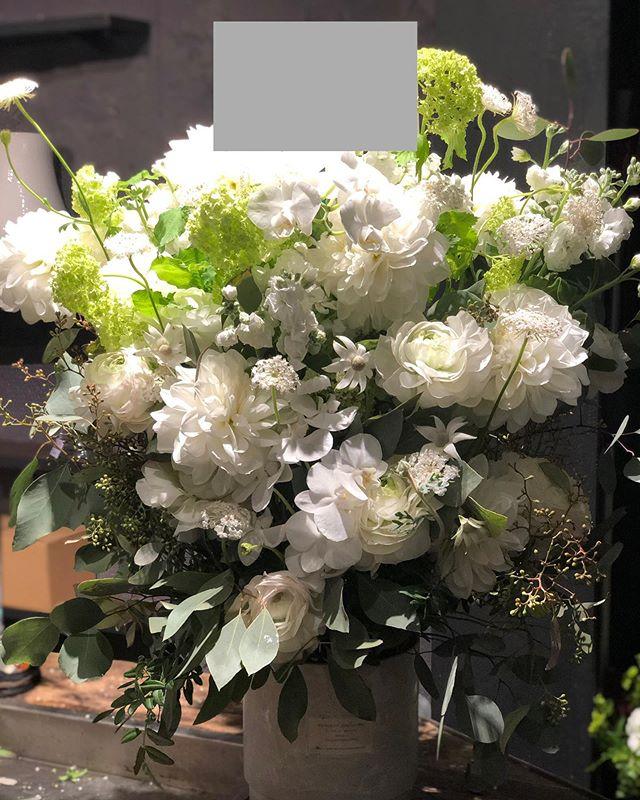 アパレル 開店祝いのお花。